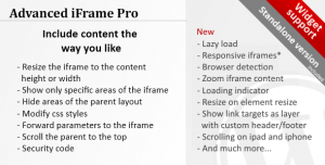 Advanced iFrame Pro v2019