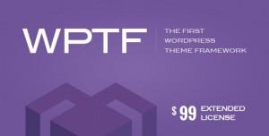 WPTF v1.4.6 - WordPress Theme Framework