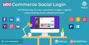 WooCommerce Social Login v1.9.4 - WordPress plugin