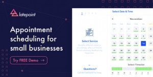 LatePoint v1.8.1 - Appointment Booking & Reservation plugin