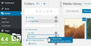 WP Real Media Library v4.4.0 - Media Categories / Folders