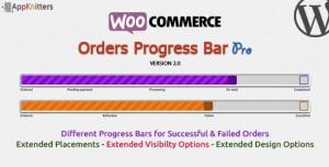 WooCommerce Orders Progress Bar v2.0.0