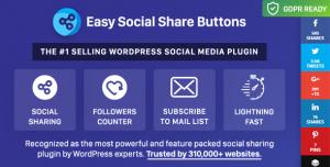 Easy Social Share Buttons for WordPress v6.2.1