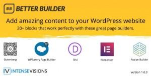 Better Builder v1.0.3 - Addon for Page Builders