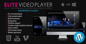 Elite Video Player v3.5 - WordPress plugin