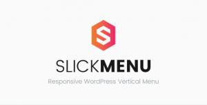 Slick Menu v1.1.4 - Responsive WordPress Vertical Menu