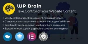 WP Brain v1.3.4 - WordPress Logic Controller