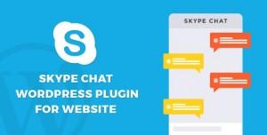 Skype chat plugin for website v1.0