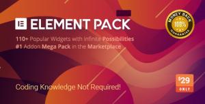 Element Pack v3.0.10 - Addon for Elementor Page Builder