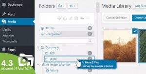 WP Real Media Library v4.3.0 - Media Categories / Folders
