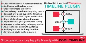 Cool Timeline Pro v2.8.7 - WordPress Timeline Plugin