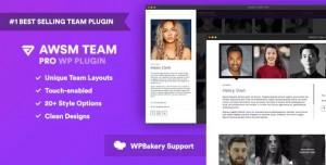 The Team Pro v1.3.1 - Team Showcase WordPress Plugin