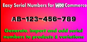 WooCommerce Serial Numbers v1.32 - WordPress Plugin