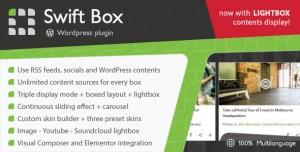 Swift Box v2.1 - Wordpress Contents Slider and Viewer