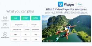 bzplayer Pro v1.9 - Live Streaming Player Plugin