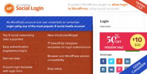 AccessPress Social Login v1.3.6