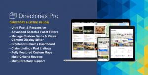 Directories Pro v1.3.18 + Addons