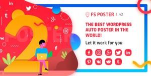 FS Poster v2.7.0 - WordPress auto poster & scheduler