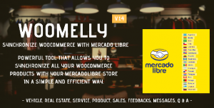 Woomelly v1.4.3 - Synchronize Woocommerce with MercadoLibre