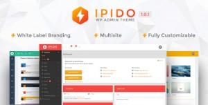 IPIDO v1.0.1 - White label WordPress Admin Theme