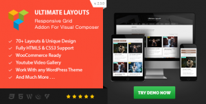 Ultimate Layouts v3.0.0 - Responsive Grid fo Visual Composer