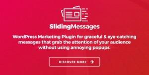 Sliding Messages v3.4 - WordPress Marketing Plugin
