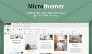 MicroThemer v6.2.1.5 - WordPress CSS Editor