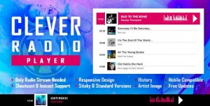 CLEVER v1.6.2 - HTML5 Radio Player With History - Shoutcast and Icecast - WordPress Plugin