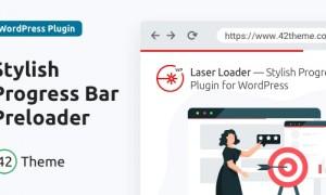 Laser Loader v1.0.2 - Stylish Progress Bar Preloader