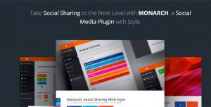 Monarch v1.4.13 - A Better Social Sharing WP Plugin