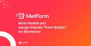MetForm Pro v1.2.2 - Advanced Elementor Form Builder