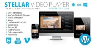Stellar Video Player v2.1 - Wordpress plugin