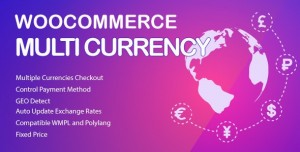 WooCommerce Multi Currency v2.1.10.2 Currency Switcher