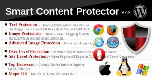 Smart Content Protector v8.2 - Pro WP Copy Protection