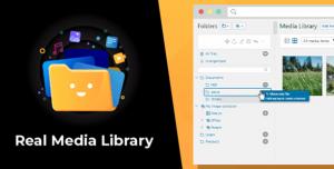 WordPress Real Media Library v4.10.1 - Folder & File Manager for WordPress Media Management