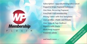 WP Membership v1.4.6