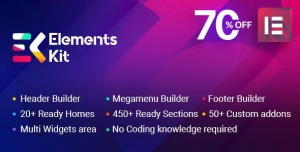 ElementsKit v2.0.2 - The Ultimate Addons for Elementor Page Builder
