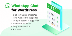 WhatsApp Chat for WordPress v2.6