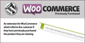 WooCommerce Previously Purchased v1.0