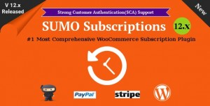 SUMO Subscriptions v12.2 - WooCommerce Subscription System