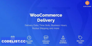 WooCommerce Delivery v1.1.5.1 - Delivery Date & Time Slots