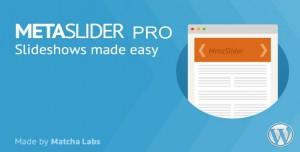 MetaSlider Pro v2.18.0 - WordPress Plugin