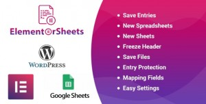ElementorSheets v2.2 - Elementor Pro Form Google Spreadsheet Addon