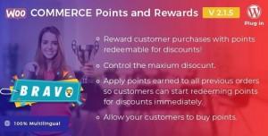Bravo v2.1.4 - WooCommerce Points and Rewards - WordPress Plugin