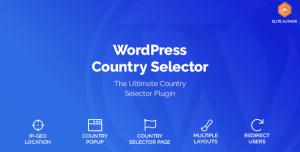 Wordpress Country Selector v1.6.1