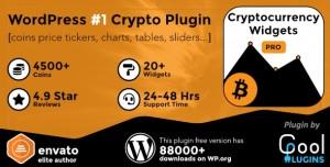 Cryptocurrency Widgets Pro v2.5.2 - WordPress Crypto Plugin