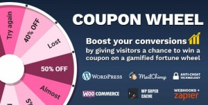 Coupon Wheel v3.3.2 - For WooCommerce and WordPress
