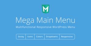 Mega Main Menu v2.2.1 - WordPress Menu Plugin