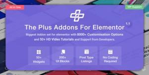 The Plus v4.1.0 - Addon for Elementor