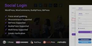 Social Login for WordPress WooCommerce BuddyPress bbPress v1.6.0